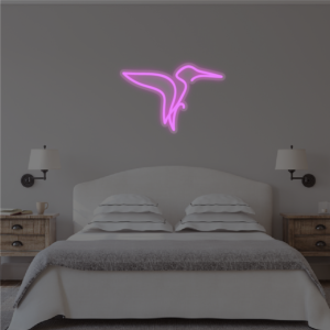 Neon Kingfisher Sign