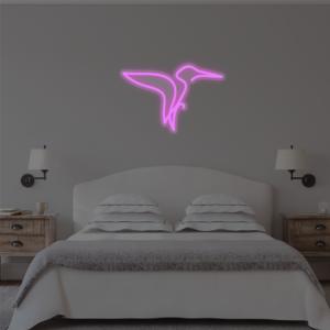 Neon Kingfisher Sign