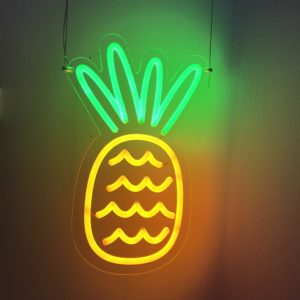 Neon sign - pineapple light