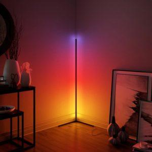 Modern Minimalist LED Corner Floor Lamp